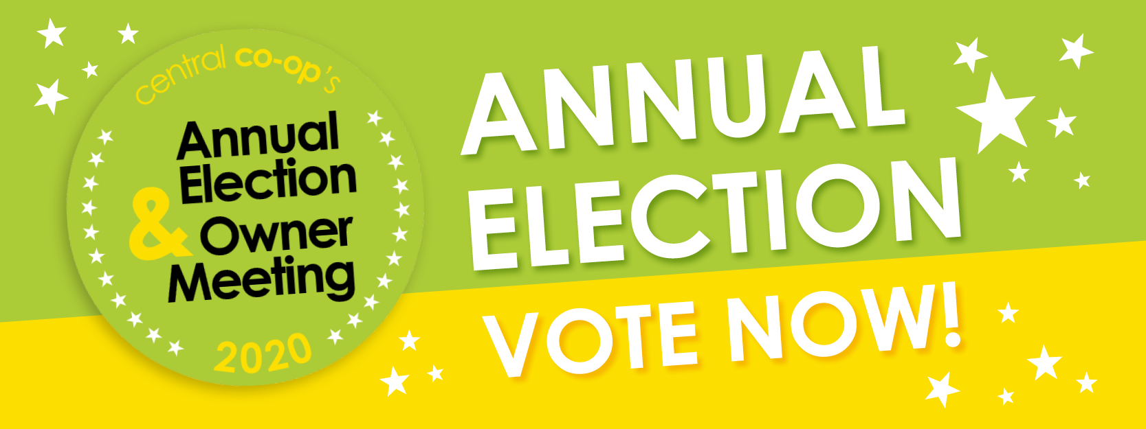 Central Co-op's Annual Election is October 5 - 18! Vote Online Today!