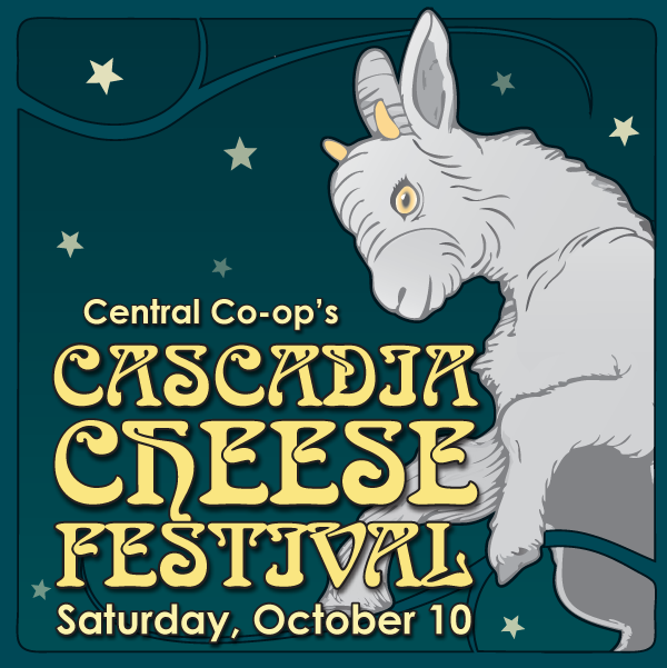 Central Co-op's Cascadia Cheese Festival @ Central Co-op | Seattle | Washington | United States