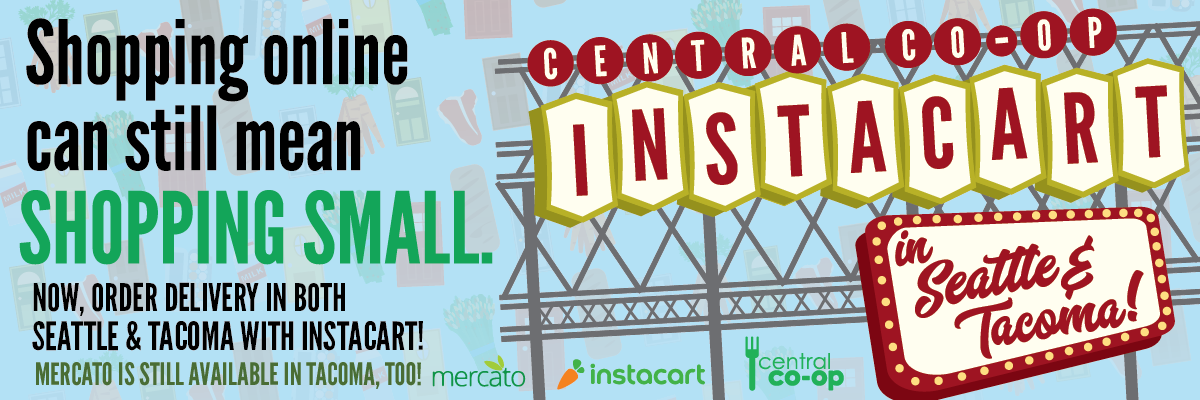 Get home delivery via Instacart or Mercato