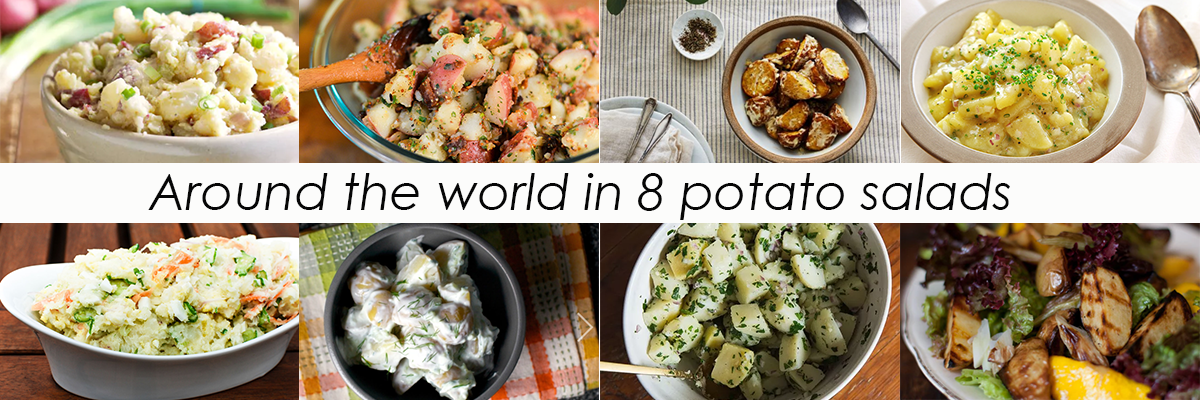 Around the World in 8 Potato Salads
