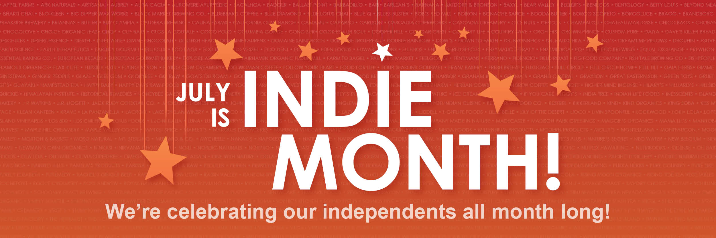 July is Indie Month